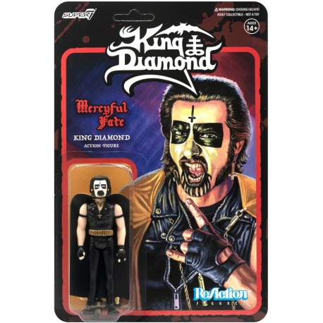 "King Diamond ""Mercyful Fate 1982"" - Action figure"