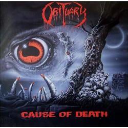 "OBITUARY ""Cause of Death"" LP"