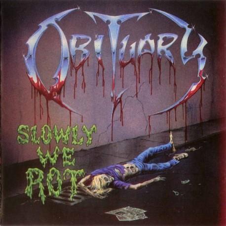 """OBITUARY """"Slowly We Rot"""" LP"""