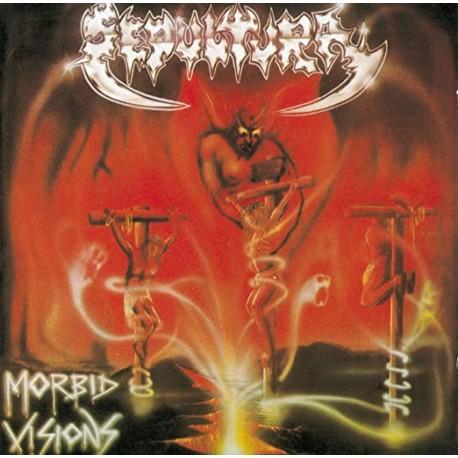 """SEPULTURA """"Morbid Visions"""" CD"""