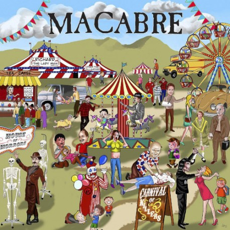 """MACABRE """"Carnival of Killers"""" LP"""