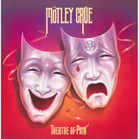 "MOTLEY CRUE ""Theatre of Pain"" LP"