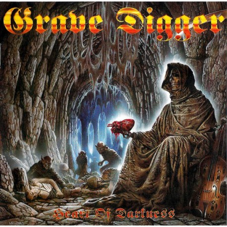 """GRAVE DIGGER """"Heart Of Darkness"""" CD"""