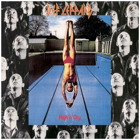 "DEF LEPPARD ""High n' Dry"" LP"