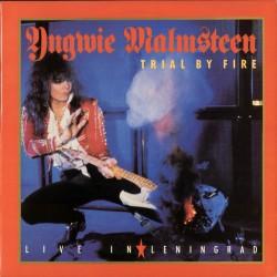 """YNGWIE J. MALMSTEEN """"Trial by Fire"""" LP"""