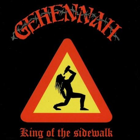 """GEHENNAH """"King Of The Sidewalk"""" CD"""