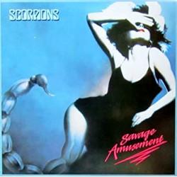 "SCORPIONS ""Savage amusement"" LP"