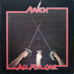 """RAVEN """"All for One"""" CD"""