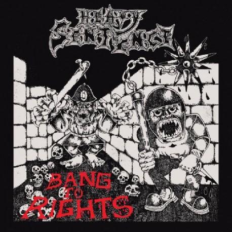 """HEAVY SENTENCE """"Bang To Rights """" CD"""