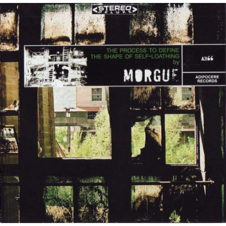 """MORGUE """"The Process To Define The Shape Of Self Loathing"""" CD"""