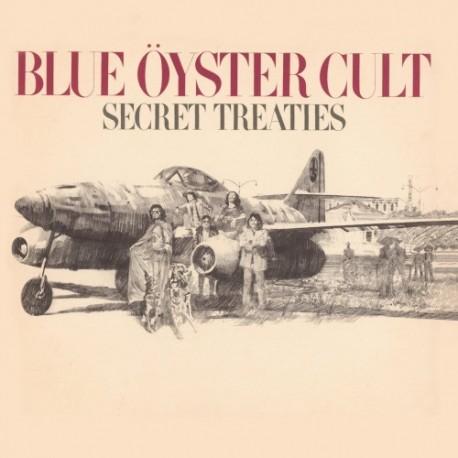 """BLUE ÖYSTER CULT """"Secret Treaties"""" CD"""