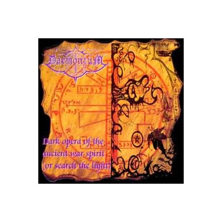 "DAEMONIUM ""Dark Opera of the Ancient War Spirit"" CD"