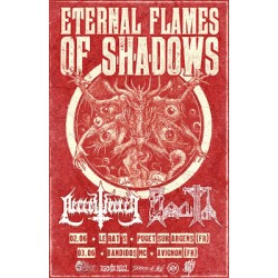 ETERNAL FLAMES OF SHADOWS A3 Poster
