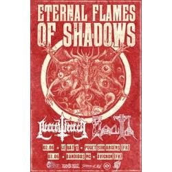 ETERNAL FLAMES OF SHADOWS Affiche A3