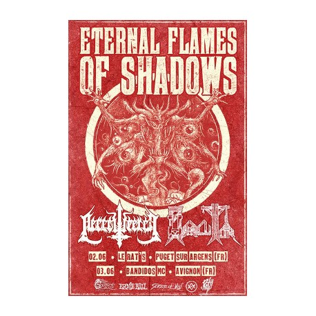 ETERNAL FLAMES OF SHADOWS Affiche A3