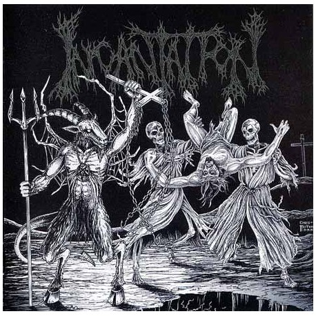 "INCANTATION ""Blasphemous Cremation"" CD"