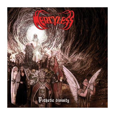 "MERCYLESS ""Pathetic Divinity"" CD"