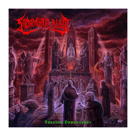 "SACRAMENTAL BLOOD ""Ternion Demonarchy"" CD"