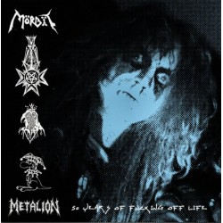 "MÖRBIT ""METALION: 50 years of fucking off life"" LP"