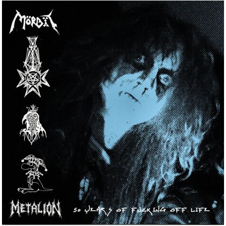 "MÖRBIT ""METALION: 50 years of fucking off life"" LP"