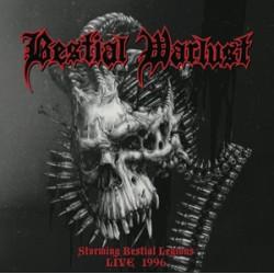 """BESTIAL WARLUST """"Storming Bestial Legions Live 1996"""" CD"""