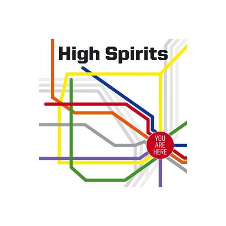 "HIGH SPIRITS ""You Are Here"" CD"