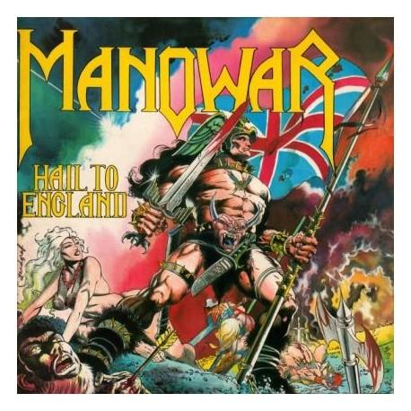 "MANOWAR ""Hail to England"" CD"
