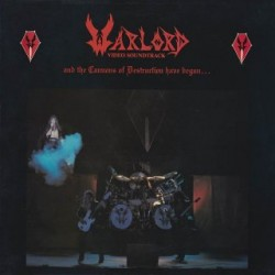 "WARLORD ""And the Cannons of Destruction Have Begun..."" 3xLP"