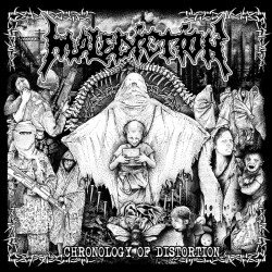 "MALEDICTION ""Chronology Of Distortion"" CD"