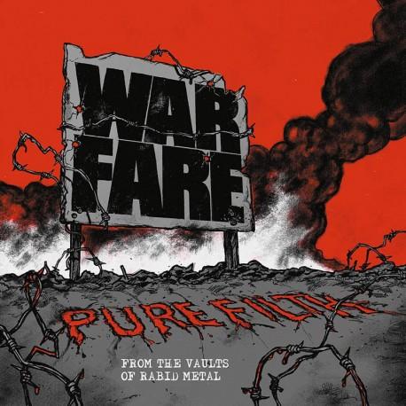"WARFARE ""Pure Filth: From the Vaults of Rabid Metal"" CD"