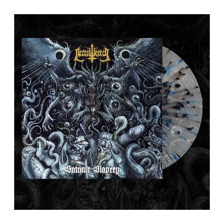 "NECROWRETCH ""Satanic Slavery"" splatter LP"