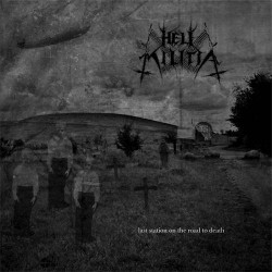 "HELL MILITIA ""Last Station on the Road to Death"" CD"
