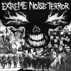 "EXTREME NOISE TERROR ""S/T"" CD"