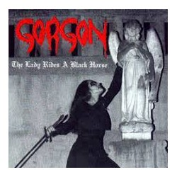 "GORGON ""The Lady Rides A Black Horse"" LP"