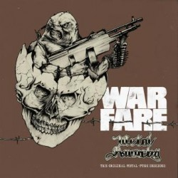 "WARFARE ""Metal Anarchy The Original Metal - Punk Sessions"" CD"
