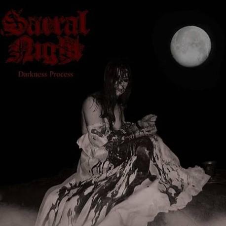 "SACRAL NIGHT ""Darkness Process"" CD"