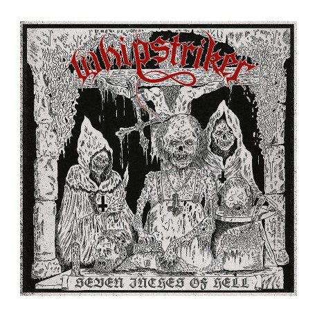 """WHIPSTRIKER """"Seven Inches of Hell"""" CD"""