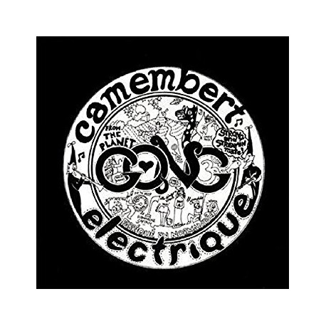 "GONG ""Camembert Electrique"" CD"