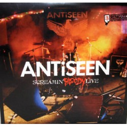 "ANTiSEEN ""Screamin' Bloody Live"" CD"