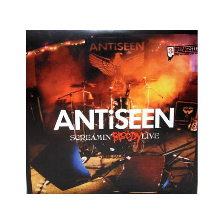 "ANTiSEEN ""Screamin' Bloody Live"" CD"