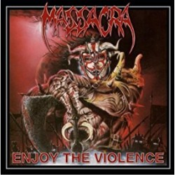 "MASSACRA ""Enjoy the Violence"" CD"