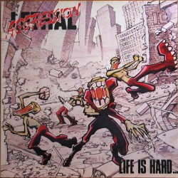 "LETHAL AGGRESSION ""Life Is Hard... but That's No Excuse at All!"" LP"
