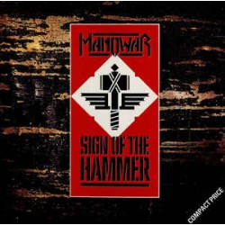 "MANOWAR ""Sign Of The Hammer"" CD"