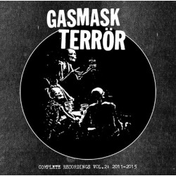 "GASMASK TERRÖR ""Complete Recordings Vol 2 2011-2015"" CD"