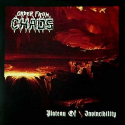 "ORDER FROM CHAOS ""Plateau of Invincibility"" CD"