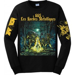 "TENTATION / IRON SLAUGHT ""665 Les Hordes Metalliques"" CD + Longsleeve BUNDLE *PRE-ORDER*"