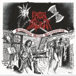 """IRON SLAUGHT """"Crusading Metal Mercenaries"""" CD"""