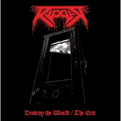 "RIPPER ""Destroy the World / The Exit"" LP"