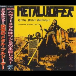 "METALUCIFER ""Heavy Metal Bulldozer (Japanese Line Up)"" CD"