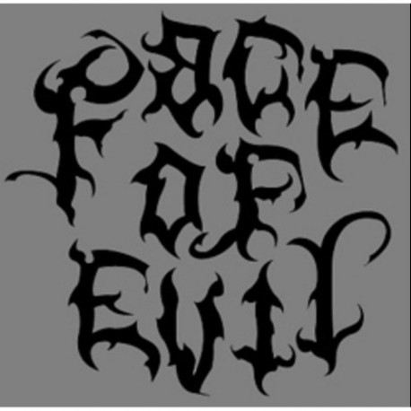 "FACE OF EVIL ""S/T"" CD"